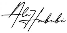 امضای علی حبیبی